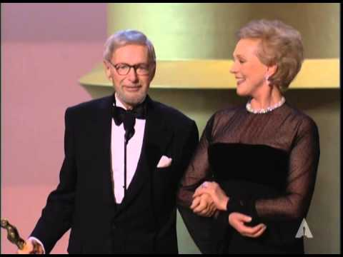 Julie Andrews presents an Honorary Oscar® to Ernest Lehman