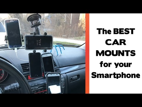 The Best Place To Mount Your Smartphone In Your Car? Car Mount Review 2017