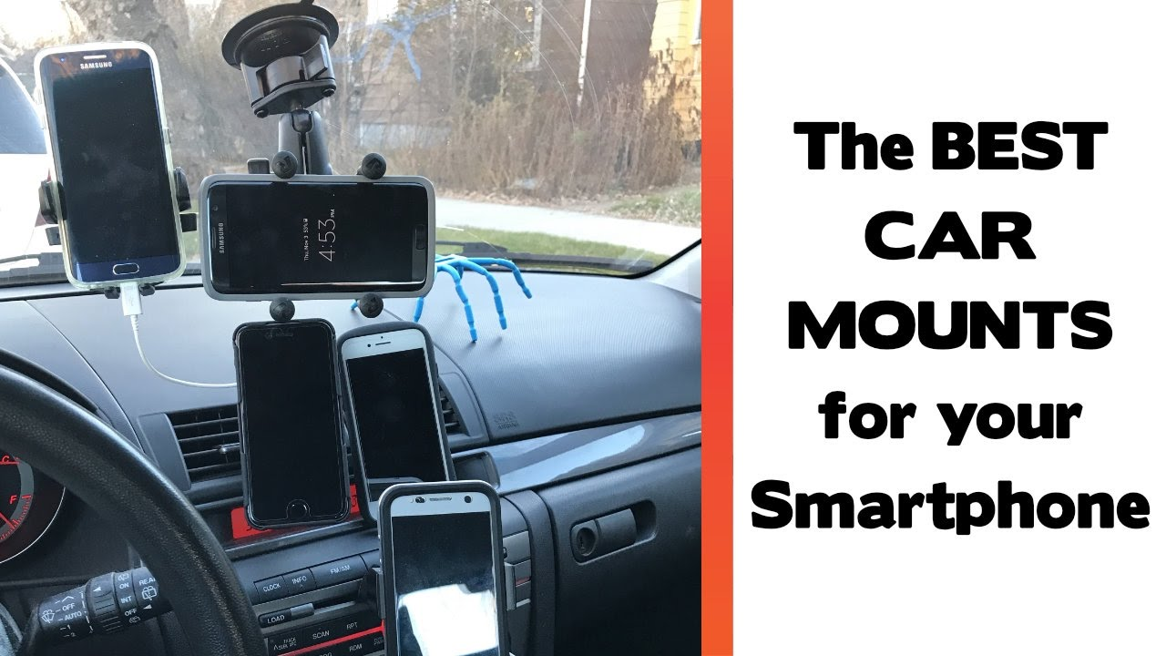 The Best Place To Mount Your Smartphone In Your Car Car Mount Review