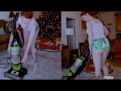 New VACUUM for the Holiday   Vacuum Cleaner Sound   Bissell Vacuum