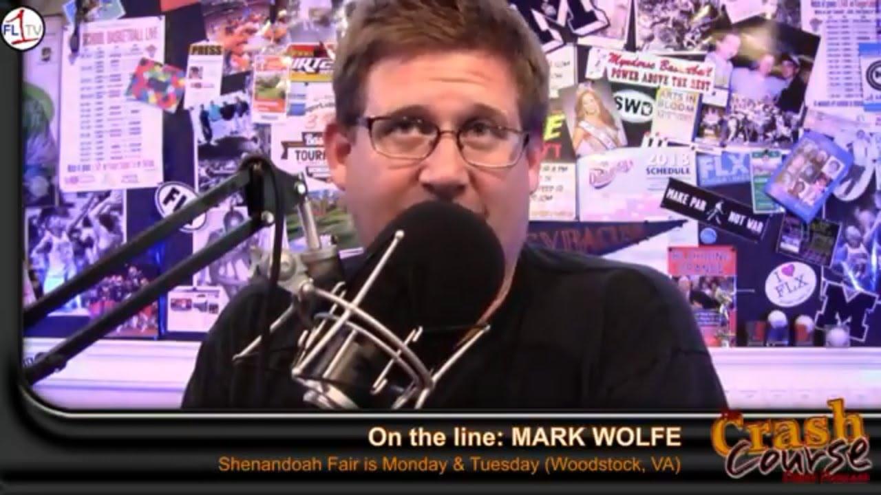 Mark Wolfe ready for Woodstock Fair ..::.. Crash Course #239