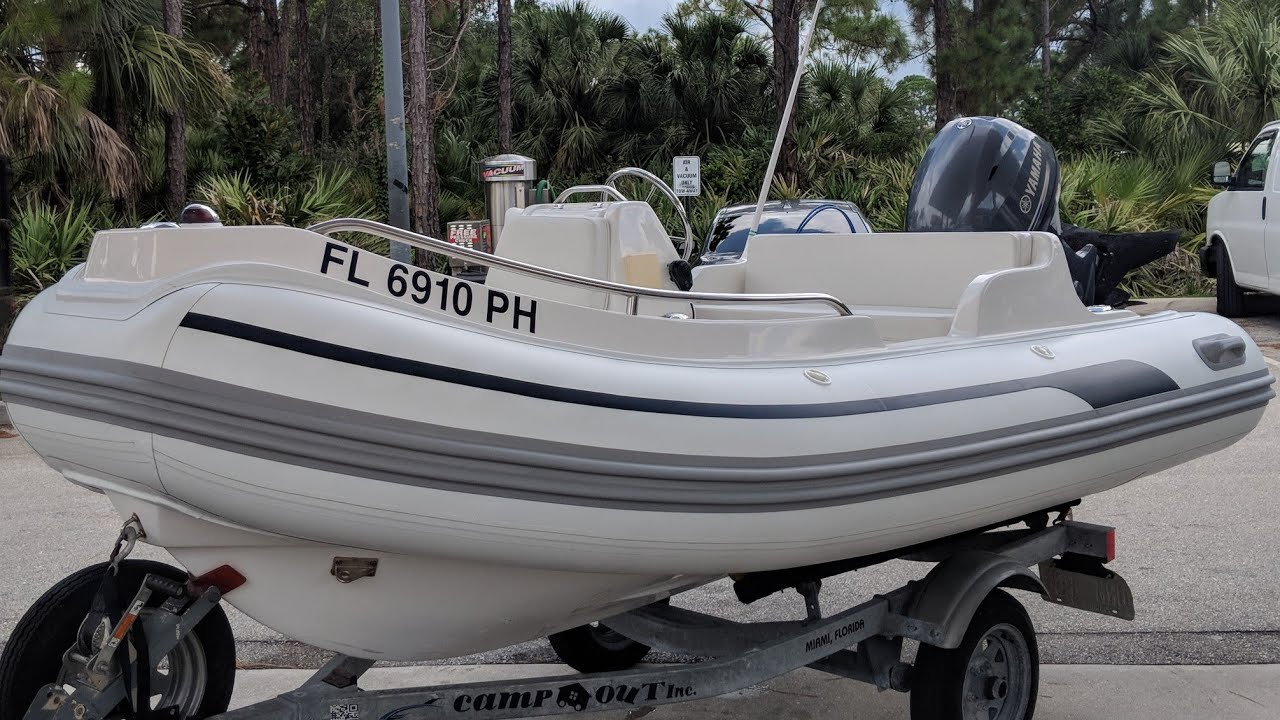 hight resolution of read more this was an awesome rib boat restoration this little a b rigid inflatable boat was completely dying and with a little bit of passion and a lot of
