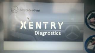 видео диагностика двигателей мерседес