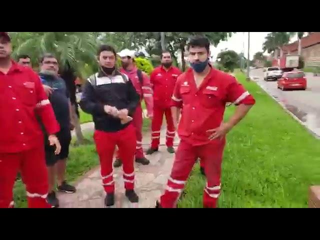 Un grupo de afiliados del gremio de camioneros enojados con Sergio Recalde