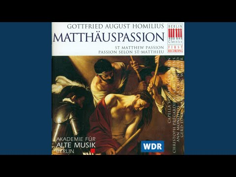 """St. Matthew Passion: Aria """"Abscheulichste Der Missetaten"""""""