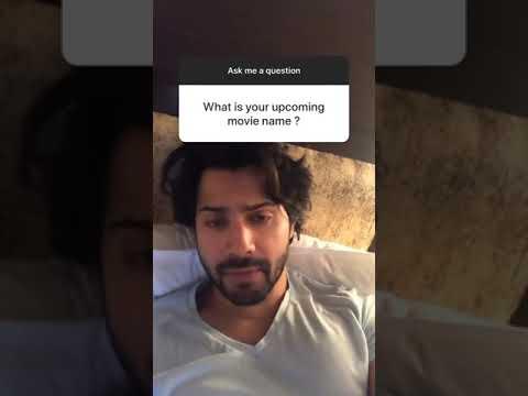 Varun Dhawan instagram Q&A | kalank Mp3