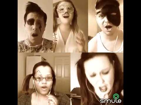 Smule lady gaga bad romance super group