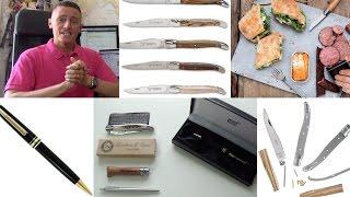 MontBlanc Meisterstuck Luxury Ballpoint Pen & Robert David Laguiole Knife Review