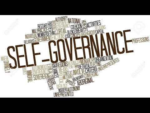 What is SELF-GOVERNANCE? SELF-GOVERNANCE meaning, definition & explanation