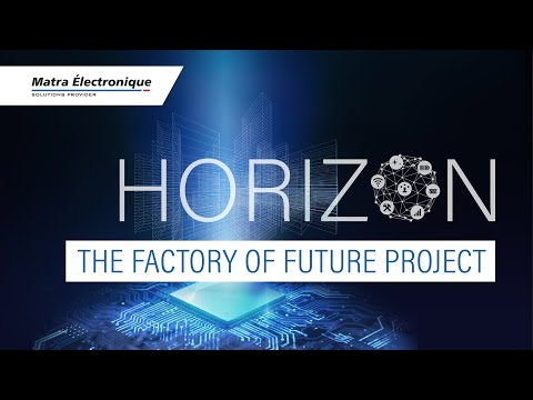 Video presentation of the factory of future by Matra Électronique