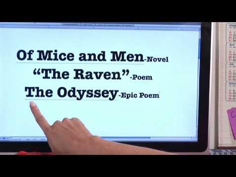 Essay quote book title