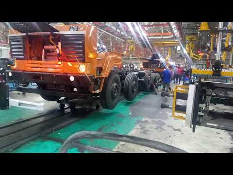 Manufacturing/production of Ashok Leyland vehicle
