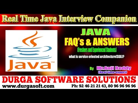 Java Interview Companion||Java || what is service oriented architecture(SOA)?