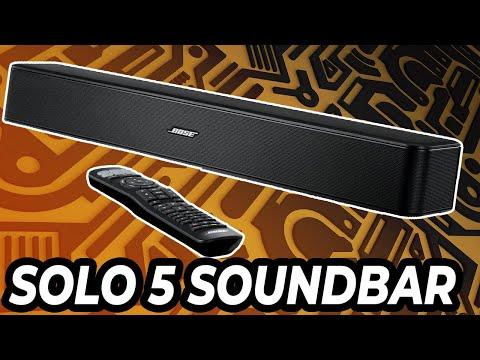 Bose Solo 5 Soundbar Review