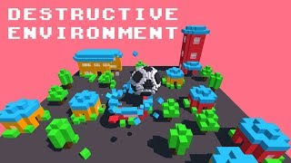 Football vs. World - Destructible Environment Game Gameplay Trailer ANDROID GAMES on GplayG