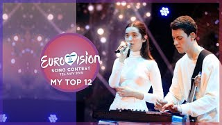 Eurovision 2019 - Top 12 (So far) 🇭🇷 🇪🇪 🇱🇻 🇸🇮