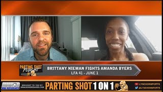 Brittany Nieman talks LFA debut June 1st against Amanda Byers at LFA 41