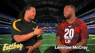 Linebackers Talk Cleats - Eastbay