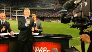 Tribute to Bruce McAvaney on his 60th Birthday Top 10 Video