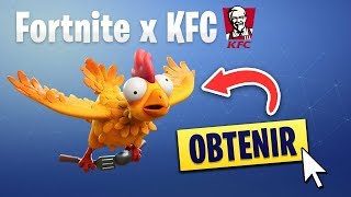 "NEW SKIN ""POULET"" FOR A VENEMENT? (FORTNITE x KFC)"