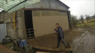 vacances a la ferme 2017 case ih vaches faucheux gopro