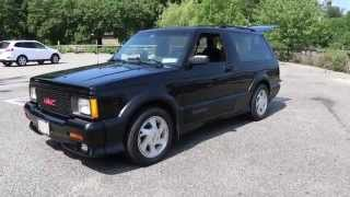 sold 1992 gmc jimmy typhoon for sale low miles 4 3l turbo charged motor