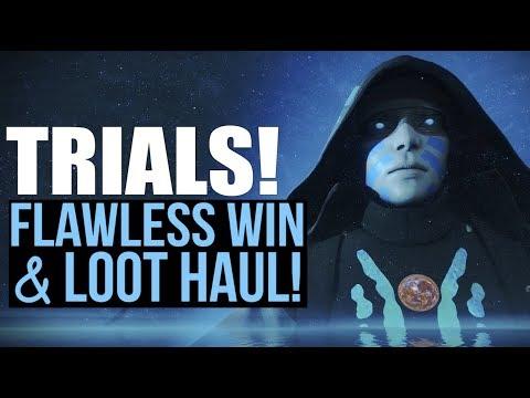 Trials of the Nine: Flawless Win & Loot Haul | DESTINY 2