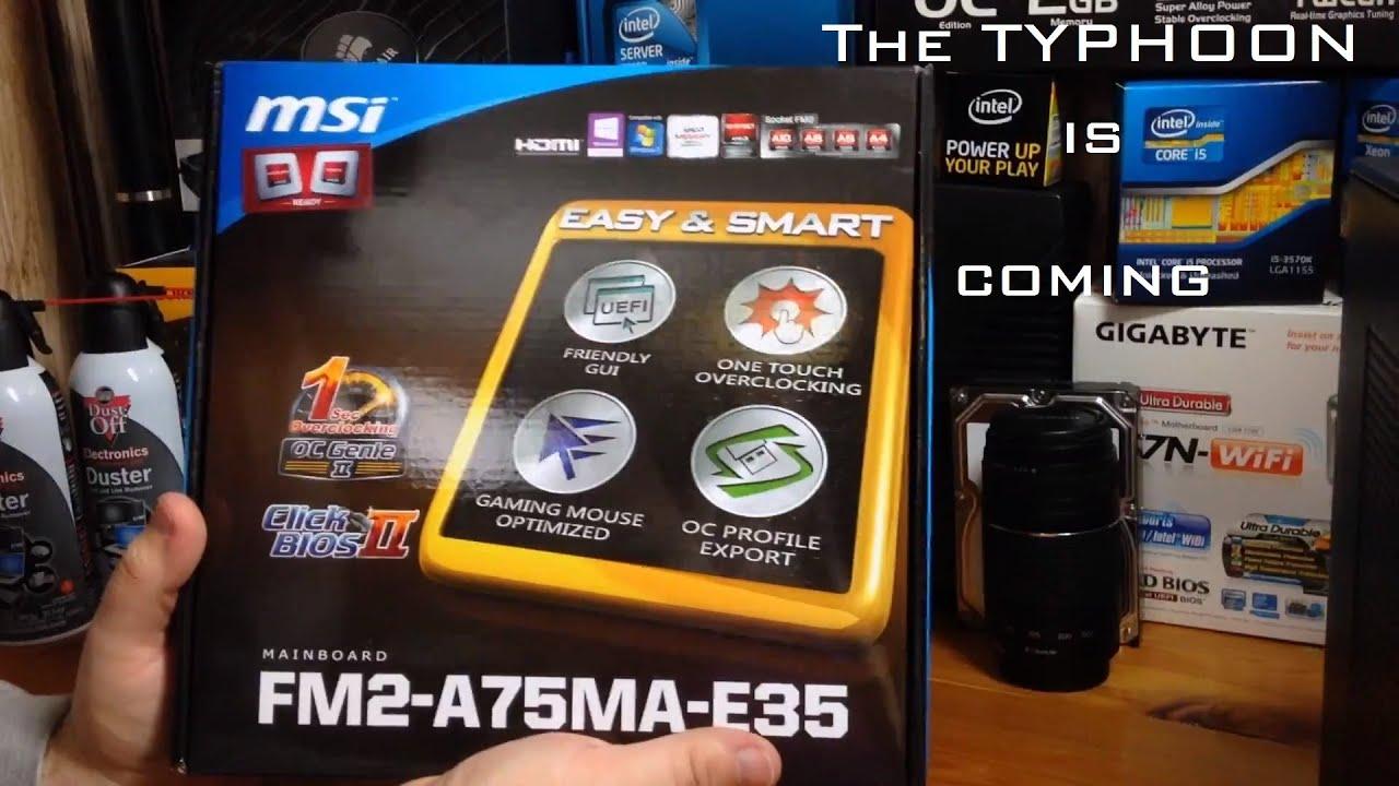 MSI FM2-A75MA-E35 Driver for Windows Download