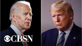 Trump up one point in Ohio as Biden leads Michigan: CBS News Battleground Tracker poll