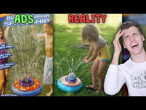 Ads Vs. Reality – Where Kids Dreams Are Crushed