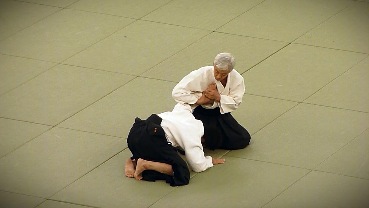 Doshu Moriteru Ueshiba - 50th All Japan Aikido Embukai (2012)
