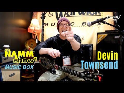 Devin Townsend Framus Stormbender NAMM 2018