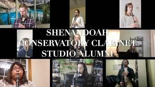 Shenandoah Conservatory Virtual Alumni Clarinet Choir - Eric Whitacre SLEEP