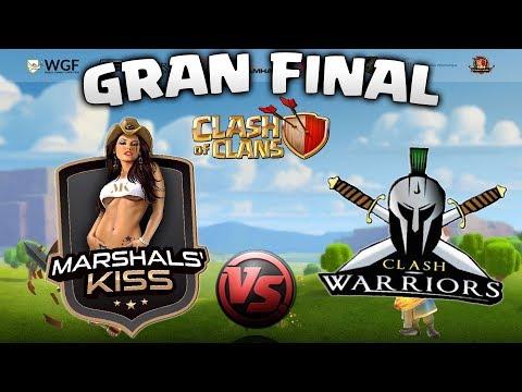 MARSHALS KISS 🆚 CLASH WARRIORS - GRAN FINAL TORNEO CLASH OF CLANS - DREAM HACK FRANCIA