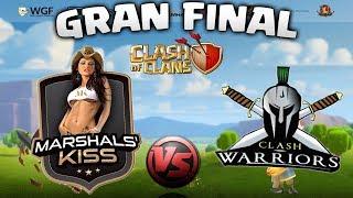 MARSHALS KISS 🆚 CLASH WARRIORS - GRAN FINAL TORNEO CLASH OF CLANS - DREAM HACK FRACIA