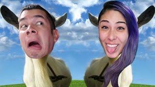 GRAPPLING TONGUE - Goat Simulator Co-Op