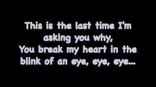 The Last Time - Taylor Swift (feat. Gary Lightbody) LYRICS