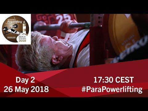 Women's Up to 61kg | World Para Powerlifting European Open Championships