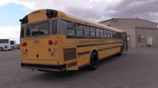Used 2001 Thomas 15 Row 90 Passenger School Bus B00004