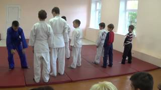 31.10.15. Открытое занятие по дзюдо: акробатика. Centre Judo Kids. Feodosiya