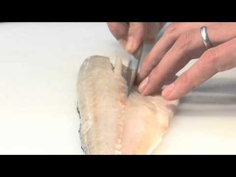 How To Pin Bone A Fish With A Knife
