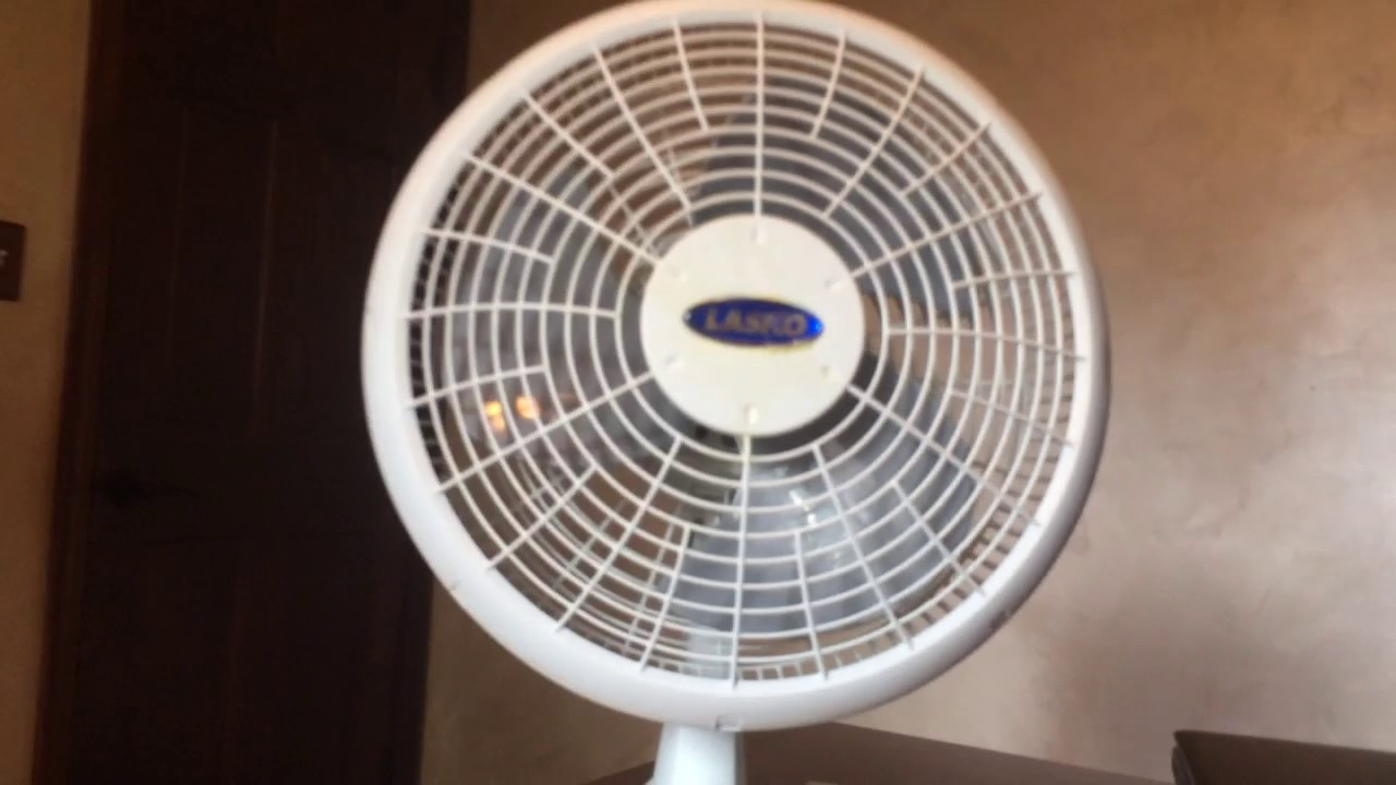 2017 Remake Older Lasko Desk Fan