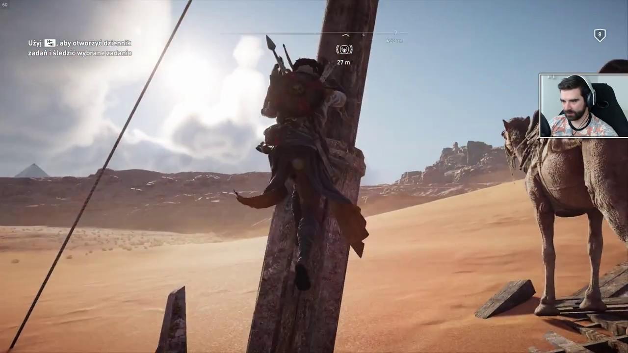 Assassin's Creed Origins #3 – Droga do Alexandrii [fabuła/poboczne]