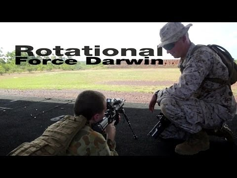 Marines Train With Australian Soldiers