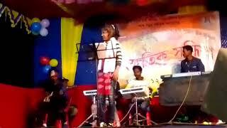 Mousumi Panika stage show at Mazbat 2019 November