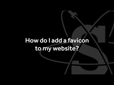 How Do I Add A Favicon To My Website? - Support Video