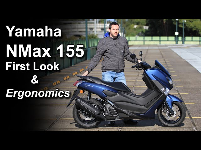 2020 Yamaha NMax 155 - Overview and Ergonomics