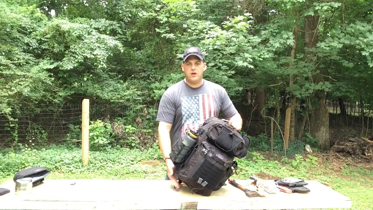 EDC BUGOUT BAG DUMP WITH TRIDENT 31 from VANQUEST - YouTube cc97928e3f