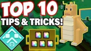 TOP 10 BEST POKEMON QUEST TIPS AND TRICKS! (Pokemon Quest Mobile Launch)
