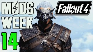 FALLOUT 4 MODS - WEEK 14 The Witcher, Star Wars Force, Liberty Prime Helmet More
